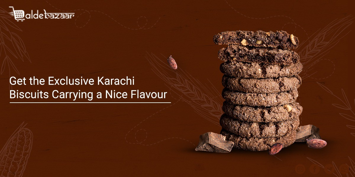 Get the Exclusive Karachi Biscuits Carrying a Nice Flavour